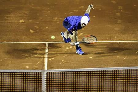 Eliminaciones de Nishikori y Ferrer marcan la jornada del Abierto de Rio