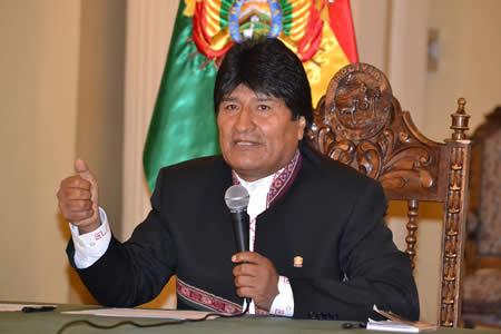 Morales anuncia reunión con gobernadores de Brasil interesados en el Tren Bioceánico