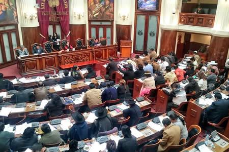 Cámara de Diputados inicia debate de la Ley General de la Coca