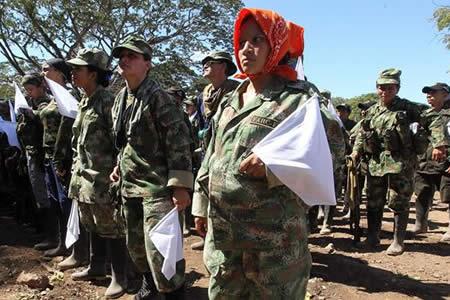Guerrilleras de las FARC cambian el fusil por los pañales en tiempos de paz