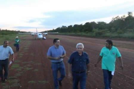 Percance de avioneta que transportaba a Gobernador Costas se supera sin heridos ni daños técnicos