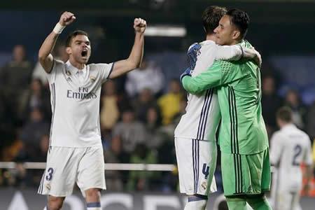 El Real Madrid remonta al Villarreal en una vibrante segunda parte
