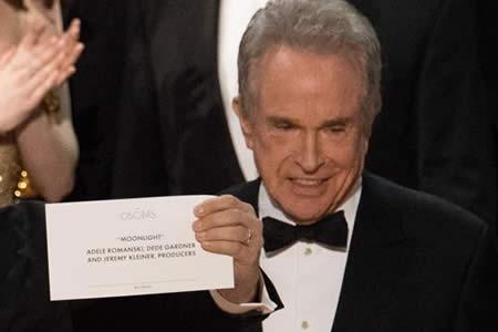 El error de los Óscar dejó estupefacta incluso a la Academia de Hollywood