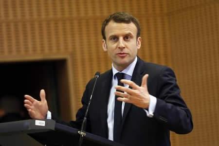 Macron acaparar las miradas en el primer debate for Banco union uninet