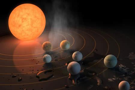 Una razón más por la que TRAPPIST-1 puede albergar vida alienígena