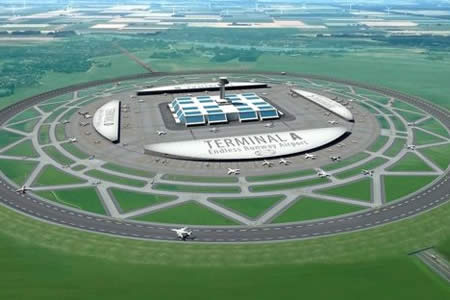 Pistas sin fin: Así serán los aeropuertos del futuro