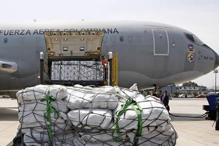 Perú comienza a recibir ayuda humanitaria de Ecuador, Colombia y Chile