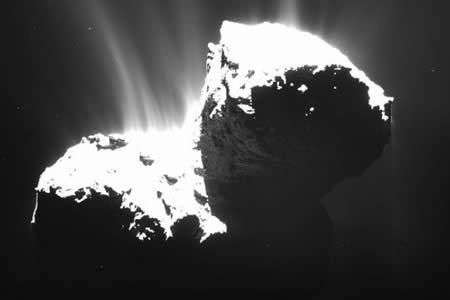 La 'pequeña metamorfosis' del cometa de la sonda Rosetta al acercarse al sol