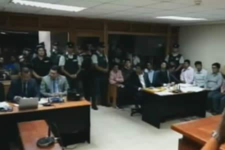 Justicia chilena determina detención preventiva de militares y aduaneros bolivianos
