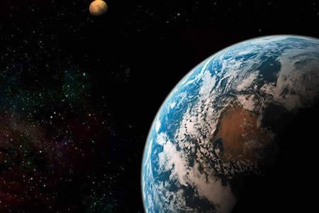 El verdadero peligro que amenaza la Tierra es… ¿una colisión con Marte?