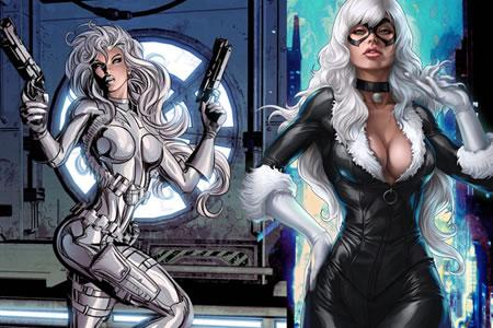 Sony ampliará el universo de Spider-Man con filme de Silver Sable y Black Cat