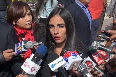 Montaño: Situación de bolivianos presos en Chile debería ser resuelto en el ámbito diplomático