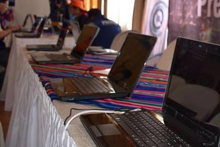 Quipus genera más de Bs 258 millones por la venta de computadoras y celulares