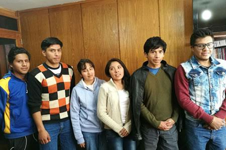 Equipo boliviano participará en competencia de la NASA