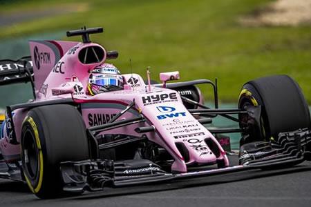El mexicano Sergio Pérez cree que Force India puede pelear con los grandes