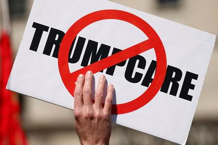 """Posible fracaso de la votación sobre """"Trumpcare"""""""