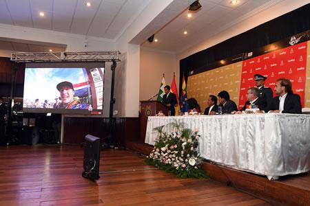 """Presentan """"Dakar 2018"""" que pasará por cuarta vez consecutiva por Bolivia"""