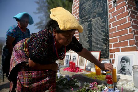 Los indígenas, las víctimas sin llanto del conflicto armado de Guatemala