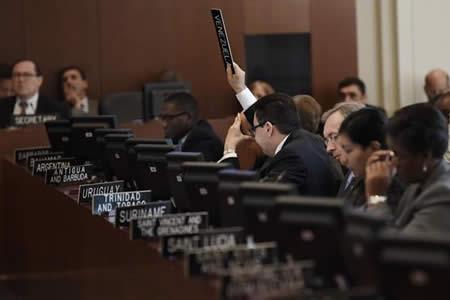 La OEA y Venezuela, un pulso que se anuncia largo
