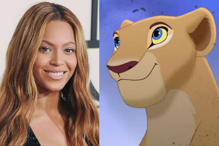 "Beyoncé prestará su voz a Nala en el ""remake"" de ""The Lion King"" de Disney"