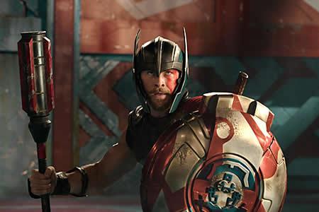 """La tercera parte de """"Thor"""", dispuesta a arrasar en los cines de EE.UU."""