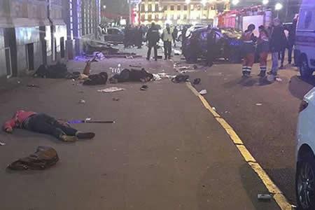 Ucrania: Una conductora mata con su todoterreno a un mínimo de 6 personas