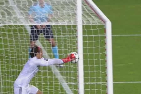 El gol más absurdo del año