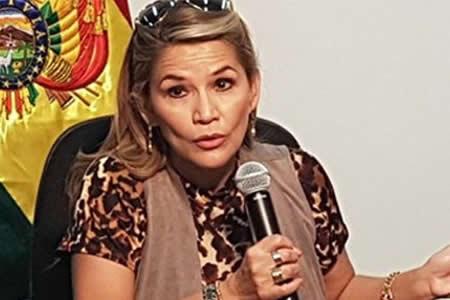 Gobierno: Sobrino de Jeanine Añez también cayó con droga