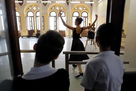 """Cuba apuesta a su futuro en el ballet pese al """"bloqueo"""" de EEUU"""