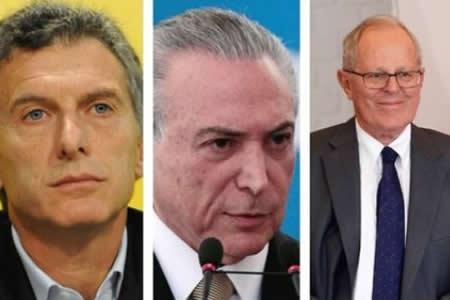 Confirman a Kuczynski para Foro de Exportadores de Gas y gestionan llegada de Macri y Temer