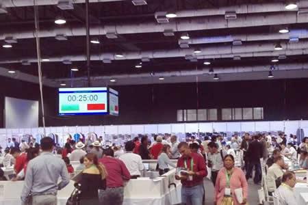 Empresarios comprometen 213 millones de dólares en la Expo Aladi en Bolivia