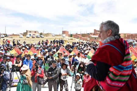 Vicepresidente: los que callaron y defendieron a 'Goni' hoy atacan a Morales