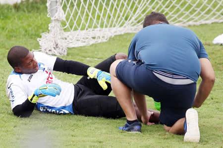 El portero Luis López será otra baja de Honduras por lesión contra Australia