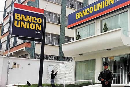 Morales anuncia posesión de Rolando Marín como nuevo Gerente General del Banco Unión