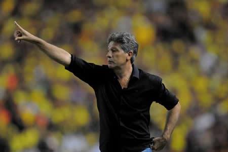 Renato Gaúcho: Entrega táctica fue importante, Gremio aún no está clasificado