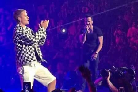 Luis Fonsi, estrella invitada en el concierto de Justin Bieber en Puerto Rico