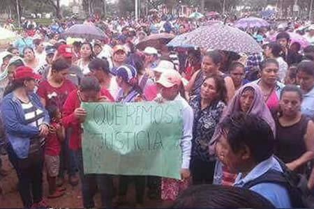 Marcha pide esclarecer muerte de un colegial en San Julián