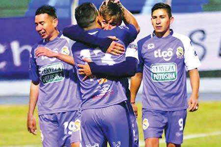 Real Potosí goleó al equipo suplente de Wilstermann