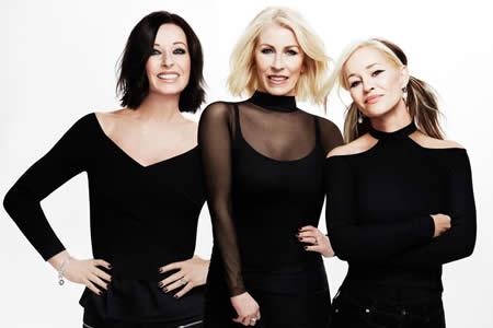 El trío musical Bananarama vuelve para una gira por el Reino Unido