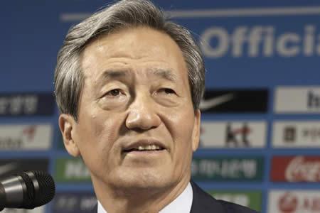 Chung Mon-Joon recurre ante el TAS la sanción de la FIFA