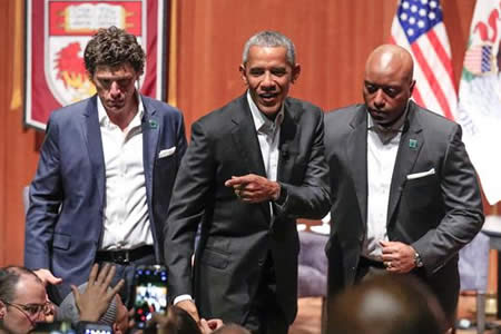 Obama reaparece con una nueva misión: implicar a los jóvenes en política