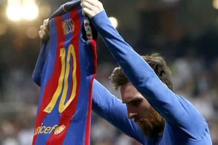 """Messi: """"Fuimos al Bernabéu para poder seguir luchando por la Liga"""""""