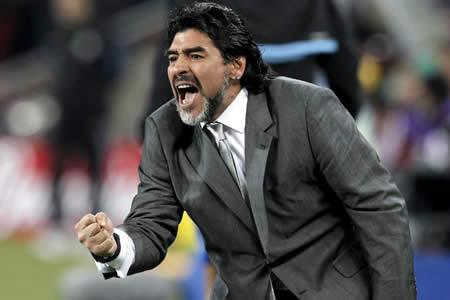 Maradona admite que desea dirigir a la selección argentina en Rusia 2018