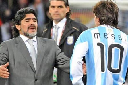 """Maradona: """"Estamos jodidos sin Messi y debemos darnos un baño de humildad"""""""
