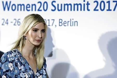 Ivanka Trump dice que su padre cree en igualdad hombres y mujeres en trabajo