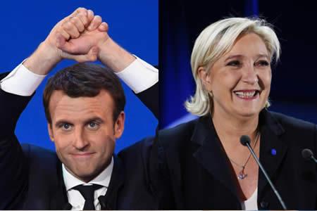 Macron y Le Pen retoman su carrera al Elíseo a dos velocidades