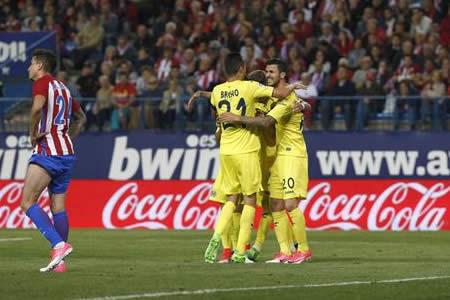 Eficacia del Villarreal, frenazo del Atlético