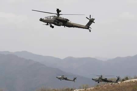 Corea del Sur y EE.UU. realizan uno de sus mayores ejercicios con fuego real