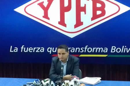YPFB disuelve contrato con Drillmec y Achá afirma que seguirá en el cargo