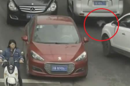 Por esto un padre no puede descuidarse ni un segundo: Dos coches atropellan a una niña